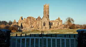 Abbey, tourist attraction, west ireland Royalty Free Stock Photos