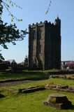 Abbey Tower Fotos de archivo libres de regalías