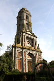 The abbey tower of Pairi Daiza (Belgium) Royalty Free Stock Photography