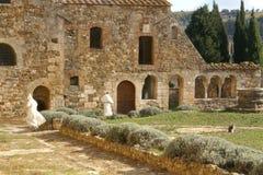 abbey tuscan Arkivbild