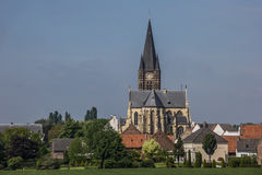 They abbey of village Thorn in Limburg Royalty Free Stock Images