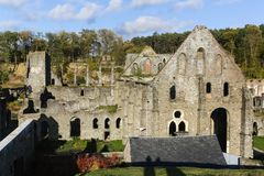 Abbey of Villers-La-Ville. The Abbey of Villers-La-Ville in Belgium Royalty Free Stock Photography