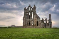 abbey whitby england Arkivbild
