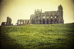 Abbey in Whitby Stock Image