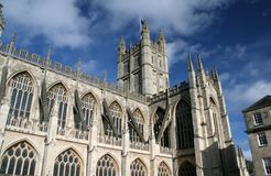 abbeybad royaltyfri bild