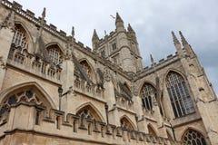 abbeybad england Arkivfoton