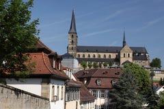 abbeybamberg michaelsberg Royaltyfri Fotografi