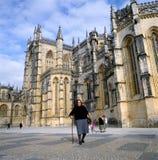 abbeybatalha portugal Arkivbilder