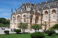 abbeybatalha portugal s Royaltyfria Bilder