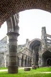 abbeyBelgien la fördärvar villevillers Fotografering för Bildbyråer