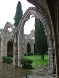 abbeybellapais cyprus Arkivbild