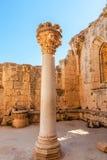 abbeybellapais cyprus Royaltyfri Foto