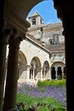 abbeycloistersenanque Fotografering för Bildbyråer