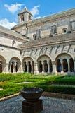 abbeycloistersenanque Royaltyfria Bilder