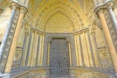 abbeydörr westminster Arkivfoto