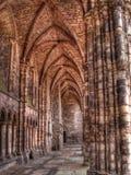 abbeydetalj edinburgh scotland Royaltyfri Foto