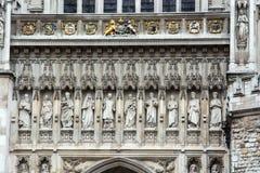 abbeydetalj westminster Fotografering för Bildbyråer