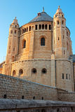 abbeydormition jerusalem Royaltyfri Bild