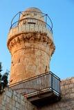 abbeydormition jerusalem Arkivfoton
