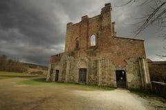Abbeyen av San Galgano Fotografering för Bildbyråer