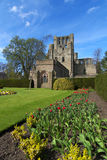abbeyen borders kelso scotland Royaltyfri Foto