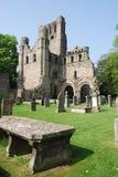 abbeyen kelso fördärvar Arkivbilder