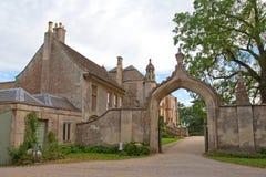 abbeyengland lacock Royaltyfri Fotografi