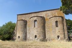 abbeyfarneta tuscany Royaltyfri Fotografi