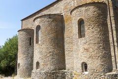 abbeyfarneta tuscany Royaltyfria Foton