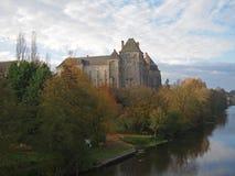 abbeyfrance solesmes Fotografering för Bildbyråer