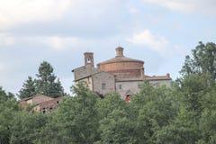abbeygalgano italy san tuscany Arkivfoton