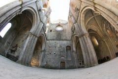 abbeygalgano italy san tuscany Royaltyfri Fotografi