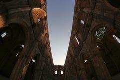 abbeygalgano italy san tuscany Royaltyfri Foto