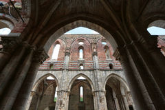 abbeygalgano italy san tuscany Royaltyfria Bilder