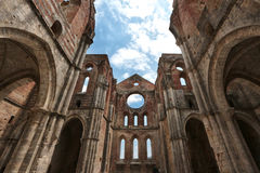 abbeygalgano italy san tuscany Royaltyfri Bild