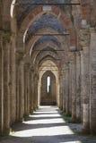 abbeygalgano san tuscany Royaltyfri Foto