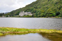 abbeyireland kylemore Arkivfoto