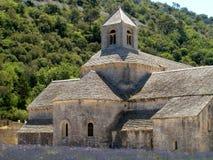 abbeyklockasenanque Arkivbilder