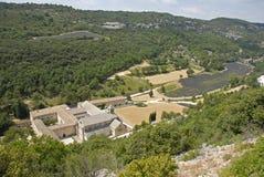 abbeysenanque Arkivfoto