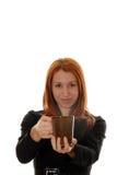 Abbia certo caffè Fotografia Stock
