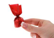 Abbia un cioccolato Immagine Stock