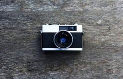 Abbia un giorno piacevole Fondo di legno fotografia stock libera da diritti