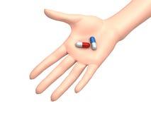 Abbia una pillola Immagine Stock