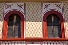 Abbiate óptico Varese el campanario viejo de la terraza de la pared Fotos de archivo libres de regalías