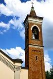 abbiate altes abstraktes Italien die alte Wand und die Glocke Lizenzfreie Stockbilder