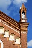 Abbiate Varese Italia de la iglesia la iglesia vieja de la terraza de la pared Foto de archivo libre de regalías