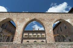 Abbiategrasso (米兰,意大利) 免版税库存照片