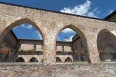 Abbiategrasso (Milaan, Italië) royalty-vrije stock fotografie