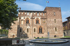 Abbiategrasso (Milan, Italien) Arkivfoton