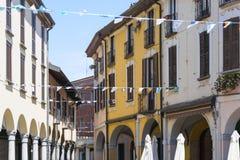 Abbiategrasso (Milan, Italien) royaltyfria foton